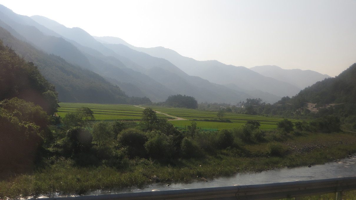 enroute to Jeongseon