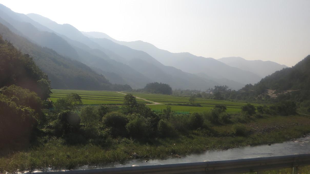 enroute to Jeongseon