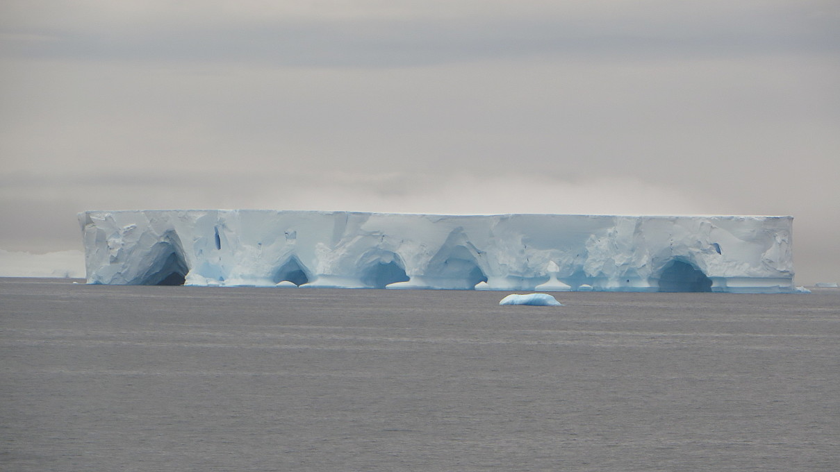 iceberg caves