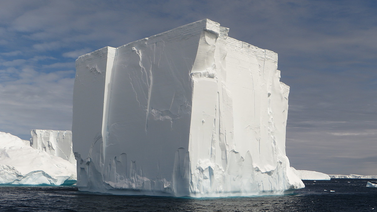 antarctic sound tabular iceberg