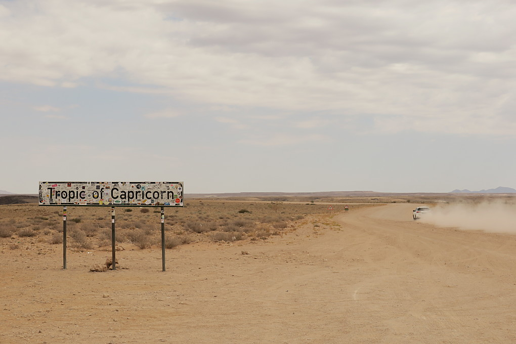 Driving north from Sesriem to Swakopmund